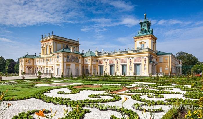 Cung điện Hoàng gia Wilanow - Warsaw