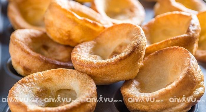 Yorkshire Pudding món bánh truyền thống của nước Anh