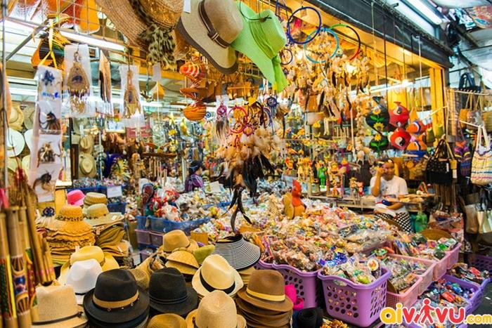 Chợ Chatuchak là khu chợ lớn nhất thế giới