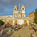 Các bậc thang Tây Ban Nha, Rome