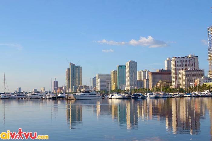 Khung cảnh cảng Manila, Philippines