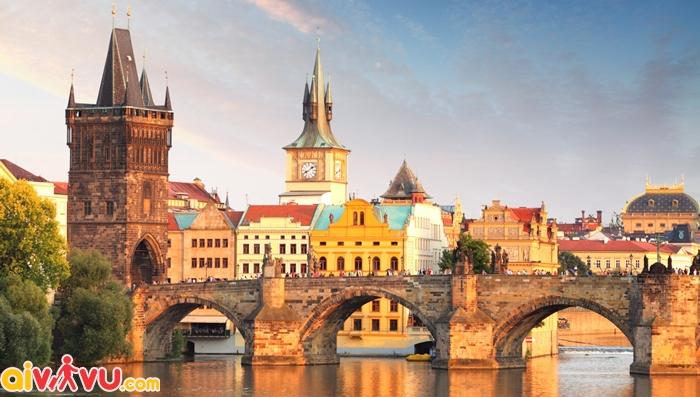 Vé máy bay đi Cộng hòa Séc Tiệp khắc giá rẻ