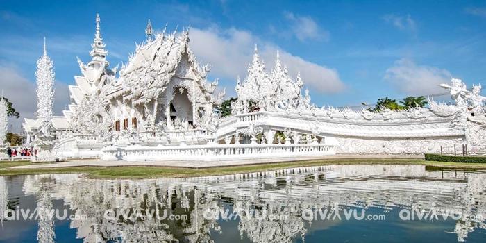 Đền Trắng đị điểm du lịch nổi tiếng tại Chiang Mai