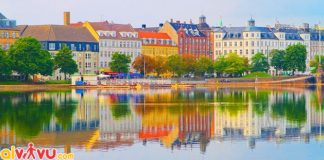 ve may bay di copenhagen gia re