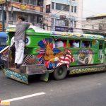 Đi xe jeep ở Manila