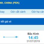 Vémáy bay đi Bắc kinh từ Đà Nẵng
