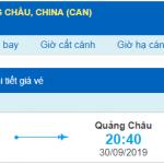 Vé máy bay đi Quảng Châu từ Đà Nẵng