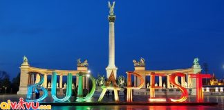 ve may bay di budapest gia re
