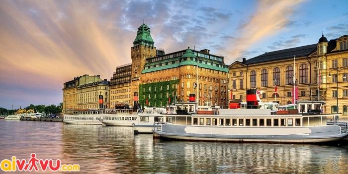 ve may bay di stockholm gia re