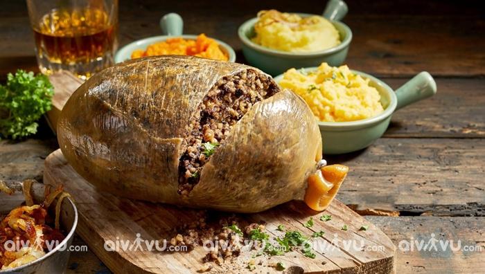 Haggis món ăn truyền thống tại Glasgow