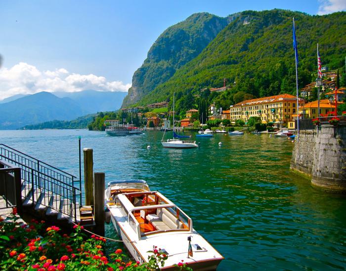 Cảnh sắc thiên nhiên hồ Como