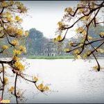 Hồ Gươm ngày xuân