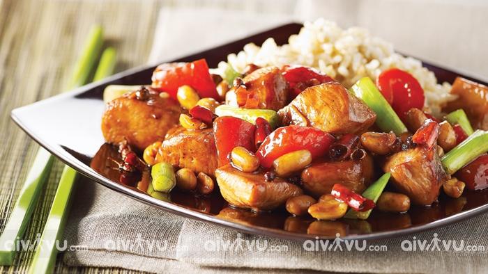Gà Kungpao một trong những món ăn truyền thống tại Quảng Châu