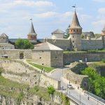 Lâu đài ở Kamenetz-Podolsk