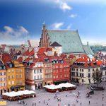 Quảng trường phố cổ Warsaw