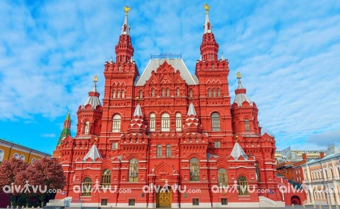 Quảng trường Đỏ điểm đến đầy tự hào của Moscow