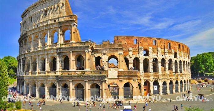 Thủ đô Rome nơi ghi dấu lịch sử của Italia
