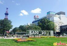Vé máy bay đi Sapporo - Đặt vé máy bay đi Sapporo giá tốt tại Aivivu