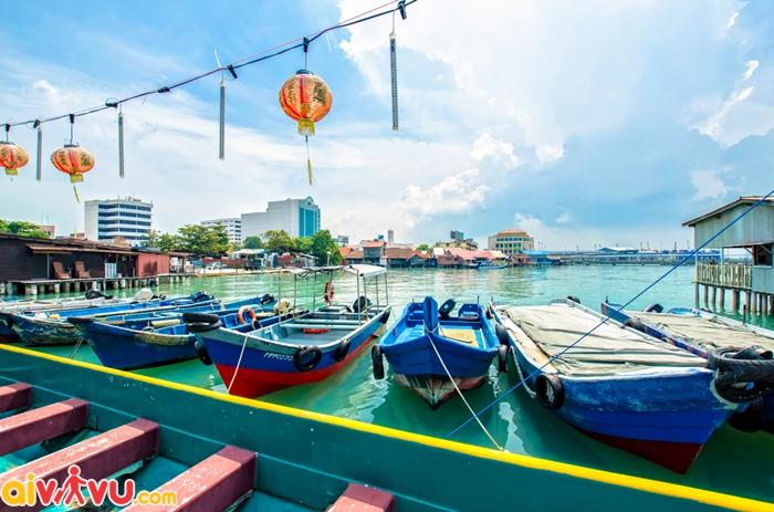 Khung cảnh yên bình ở Penang