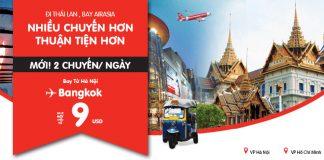 Du lịch Bangkok với vé máy bay giá rẻ chỉ từ 30 USD