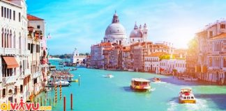 ve may bay di venice gia re