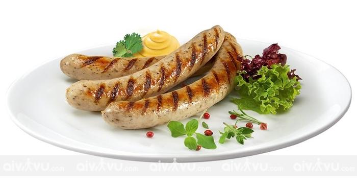 Xúc xích Đức món ăn nổi tiếng trên toàn thế giới