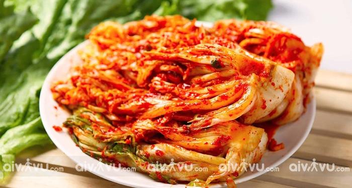 Baechu Gimchi món ăn tiêu biểu trong ẩm thực Hàn Quốc
