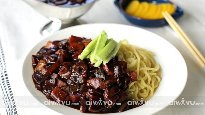 Jajangmyeon món ăn phổ biến tạiHàn Quốc