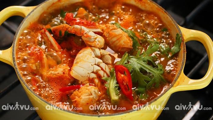 Kkotgetang một trong những món ăn ngon tại Incheon