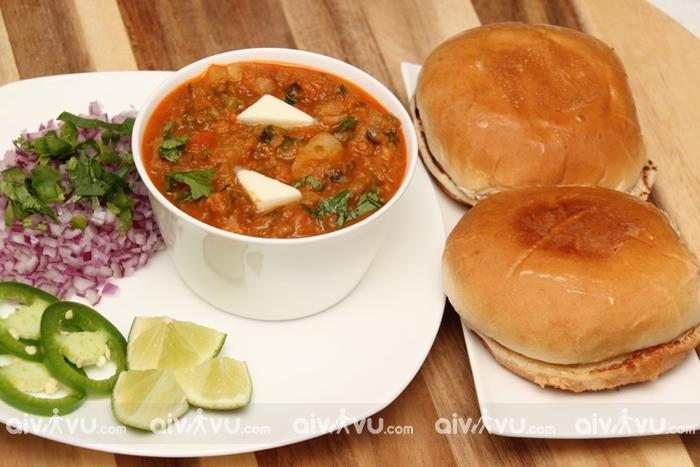 Pav Bhaji món ăn đường phố được yêu thích nhất tại Mumbai