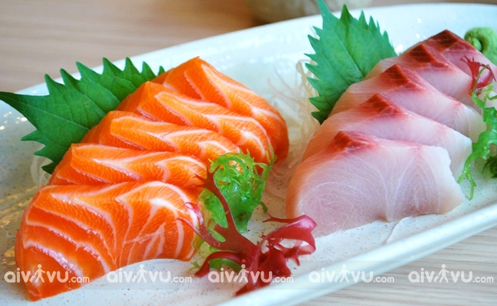 Sashimi tươi ngon của Jeju
