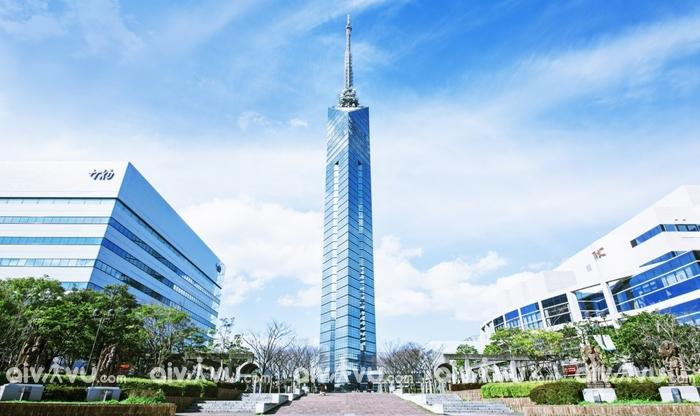 Tháp Fukuoka biểu tượng tiêu biểu của Kyushu