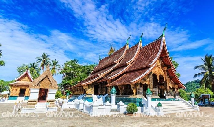 Chùa Xiêng Thoong một trong những ngôi chùa cổ tại Luang Prabang