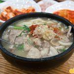 Canh thịt lợn Tue-chi-kuk-bap - đặc sản Busan