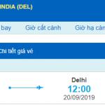 Vé máy bay đi Ấn Độ từ Đà Nẵng Vietnam Airlines