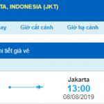 Vé máy bay đi Jakarta từ Đà Nẵng