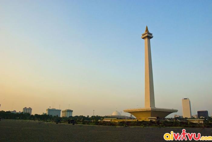 tượng đài Monas - biểu tượng của Indonesia