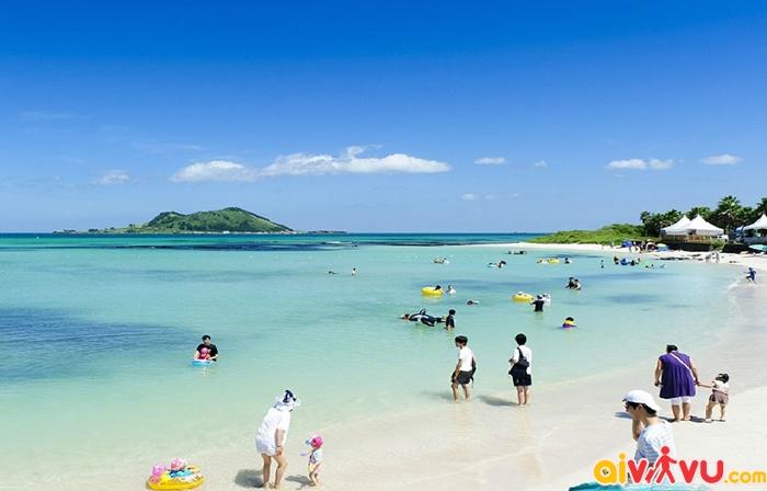 Bãi biển Gwakji - Jeju