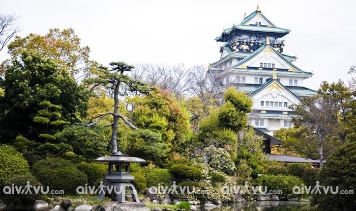Lâu đài Fukuoka điểm tham quan yêu thích của du khách