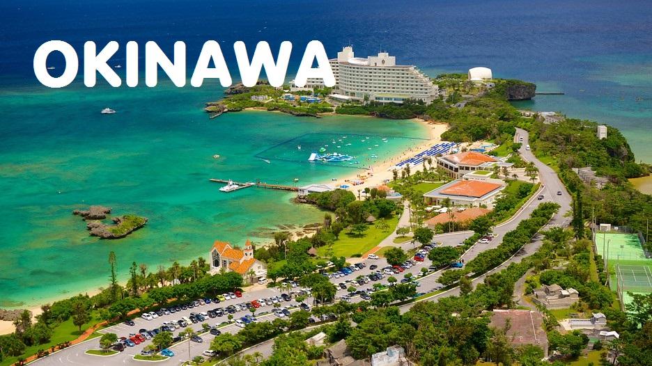 Bản đồ đường bay chặng Hà Nội - Okinawa