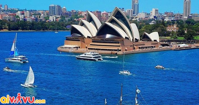 Úc quyết định cấp visa hạn mức 10 cho du khách Trung quốc