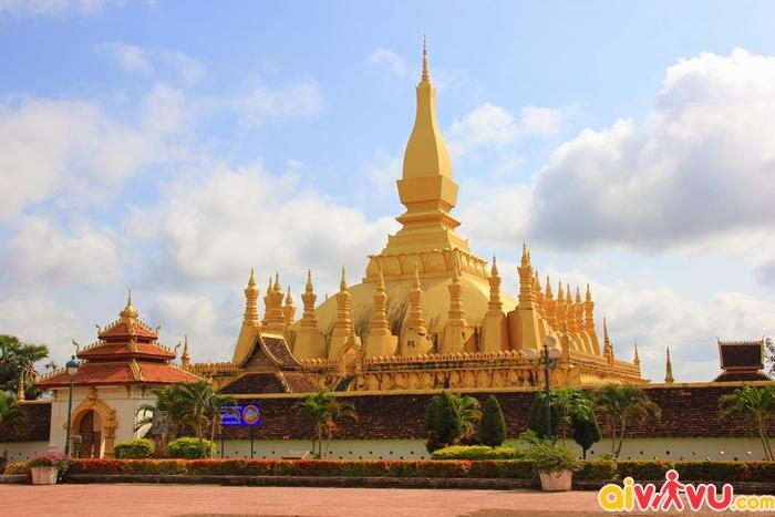 Pha That Luang - biểu tượng của Viêng Chăn