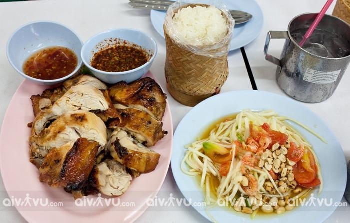 Xôi Lào là món ăn hàng ngày của người Lào