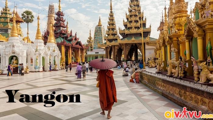 Vé máy bay đi Yangon giá rẻ
