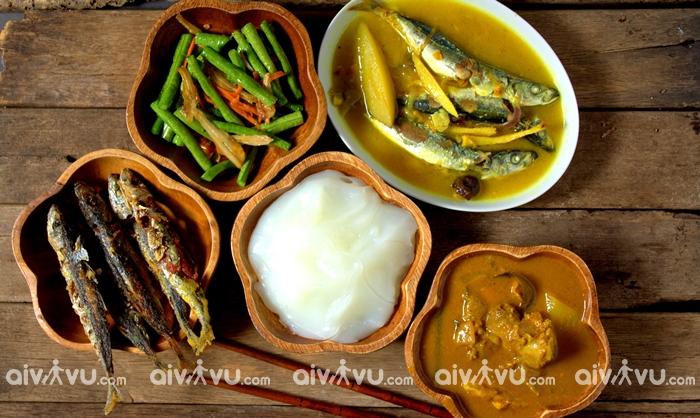 Ambuyat món ăn vô cùng phổ biến ở Brunei