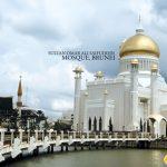 Nhà thờ Hồi giáo Omar Ali Saifuddien là biểu tượng của thành phố Bandar Seri Begawan