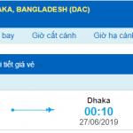 Vé máy bay đi Dhaka từ Hồ Chí Minh