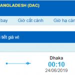 Vé máy bay đi Dhaka từ Hà Nội