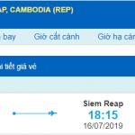 Vé máy bay đi Siem Reap Vietjet Air