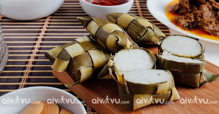 Ketupat món ăn dân dã được yêu thích tại Bandar Seri Begawan